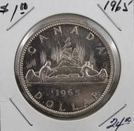 1965 Canada 1 Dollar, SB, B5